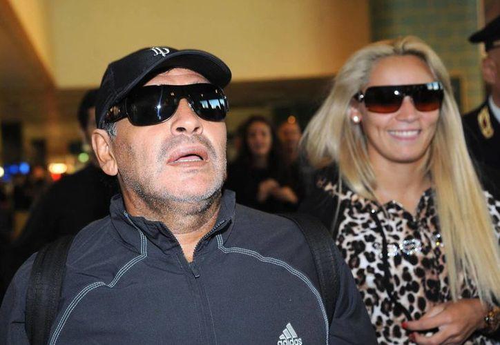 Rocío Oliva (foto), de 23 años, afirma que la anterior pareja de Maradona no fue la causa de su ruptura con el campeón del mundo. (EFE)
