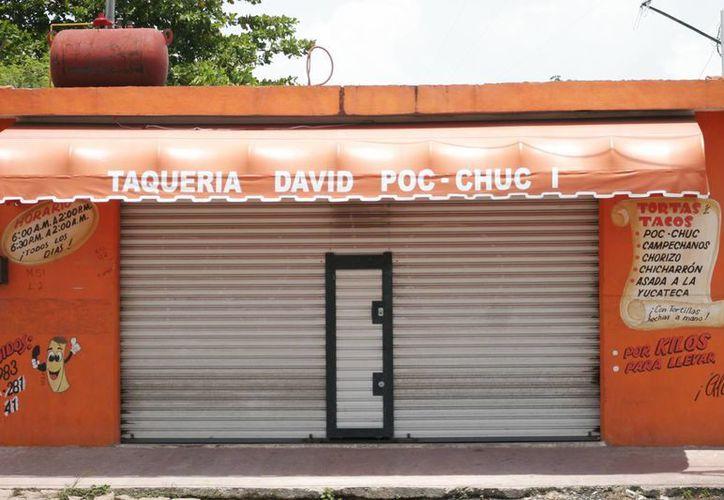 """La familia atribuyó el malestar a los alimentos ingeridos en """"Los tacos de David Poc-Chuc"""". (Harold Alcocer/SIPSE)"""