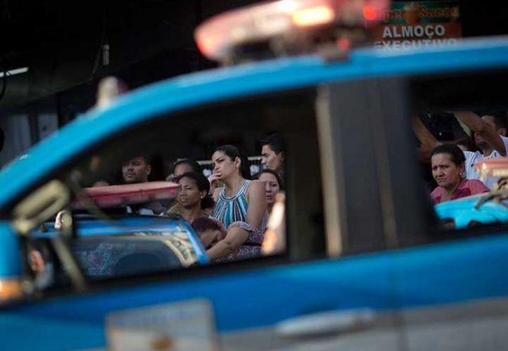 Al menos dos personas murieron y otras 28 resultaron heridas en un tiroteo en Brasil. (AP).