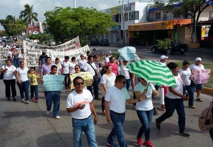 Los maestros de Quintan Roo se manifestarán para demostrar su rechazo a la evaluación docente. (Archivo/SIPSE)