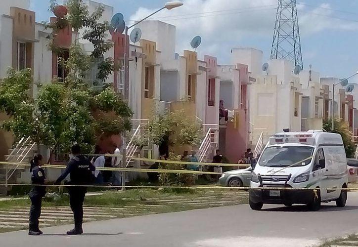 El asesinato se registró en un domicilio del fraccionamiento Ciudad Natura. (Redacción/SIPSE)