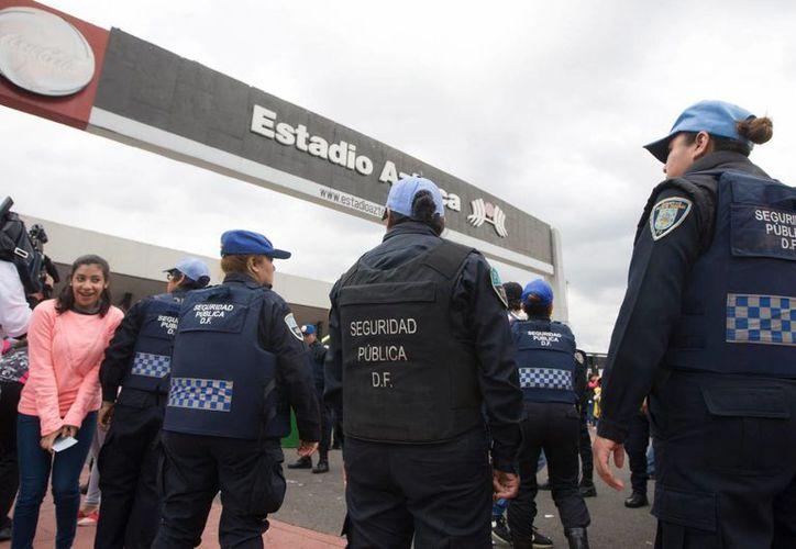 El C2 de la policía capitalina monitoreará constantemente la zona para evitar la reventa de boletos. (Archivo/Notimex)