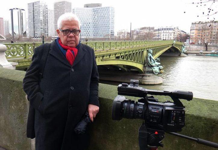 Con motivo del centenario del nacimiento de Octavio Paz se rueda un documental sobre los años parisinos del premio Nobel mexicano dirigido por Enrique Márquez. (Notimex)