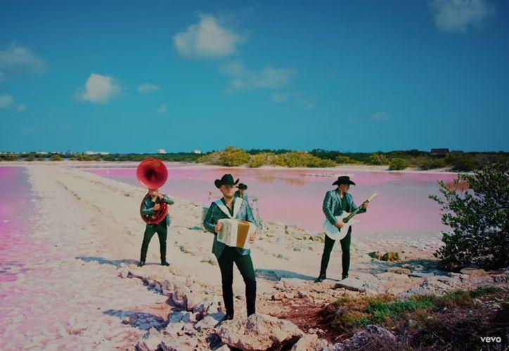 Esta es la segunda ocasión en que Calibre 50 filma en escenarios de Yucatán. (Captura de pantalla)