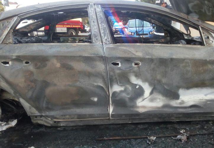 En la primera semana de este año se han contabilizado tres incendios a vehículos. Ángel Castilla/SIPSE)