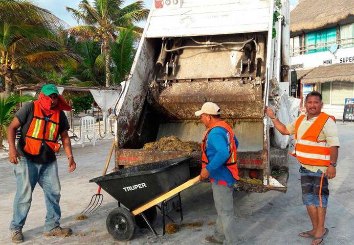 Las autoridades de limpieza implementaron un operativo especial de recolección de desechos desde el inicio del Bulevar Bahía hasta la comunidad de Calderitas.