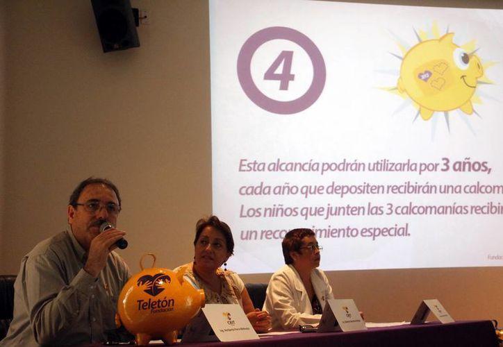 Directivos de Fundación Teletón y el CRIT presentaron la campaña. (Milenio Novedades)