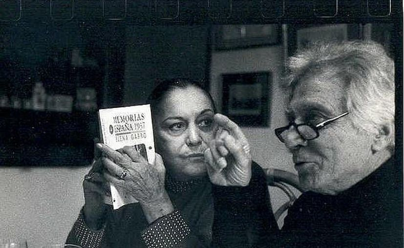 La actriz Ofelia Guilmain (ya fallecida) y el escritor Santiago Genovés (quien murió el jueves). (flickr.com)