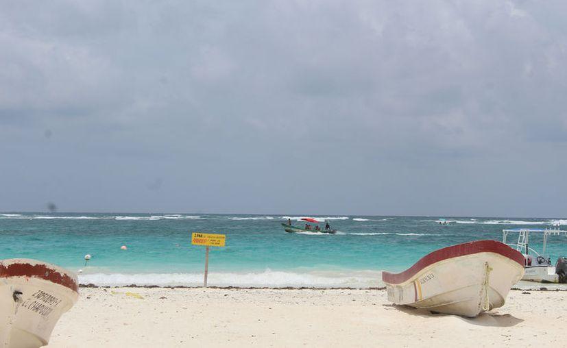 El gobierno municipal de Tulum no tiene proyectado realizar inversión para mejorar los servicios en las playas. (Foto: Sara Cauich)