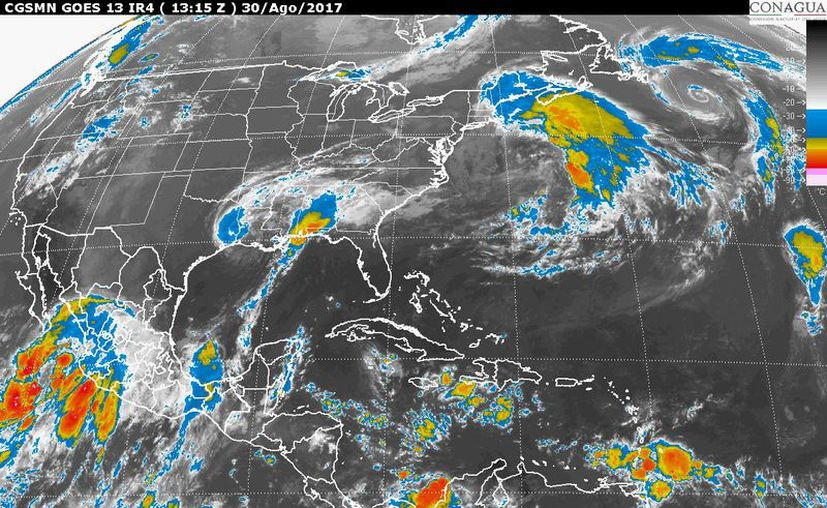 Se pronostican lluvias en Yucatán y Quintana Roo. (Foto: Conagua)