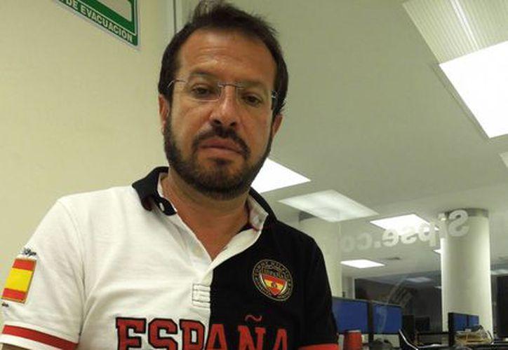 Alejandro Escamilla Alvear, empresario de origen guanajuatense, presta sus servicios al Infonavit. (SIPSE)