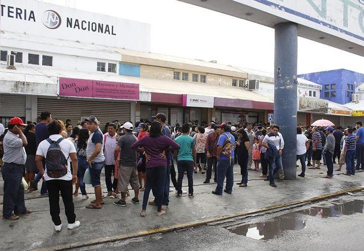 Este módulo siempre ha tenido mucha afluencia todo el año por su ubicación.(Foto: Novedades Yucatán)