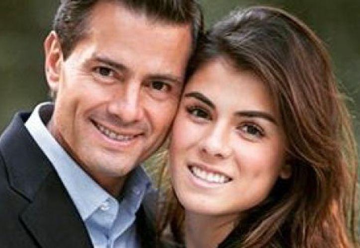 La primogénita del primer matrimonio del presidente con Mónica Pretelini, compartió una carta en Instagram para su padre. (The Huffington Post)