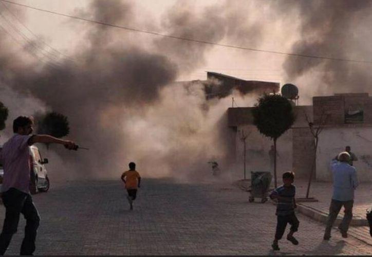 Deir Ezzor permite a los yihadistas mantener unidos los territorios que gobierna en Siria e Irak. (Prensa Latina)