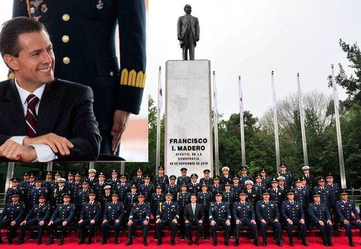 En el Estado Mayor hay  12 generales o almirantes, 187 jefes o capitanes, 550 oficiales y 836 de tropa. (Fotocomposición SIPSE.com)