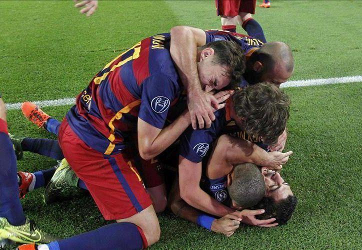 Gol gol de Luis Suárez al minuto 82, el Barcelona derrotó al Bayer Leverkusen en un partido que se le complicó sin la participación del astro blaugrana Lionel Messi. (EFE)