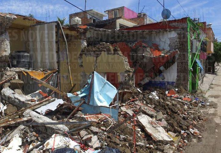 Hasta el momento solo se registran daños materiales. (Israel Leal/SIPSE)