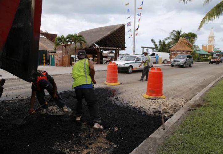 Con estas obras se concluirán en su totalidad los 28.5 kilómetros de la rehabilitación del bulevar Kukulcán. (Redacción/SIPSE)