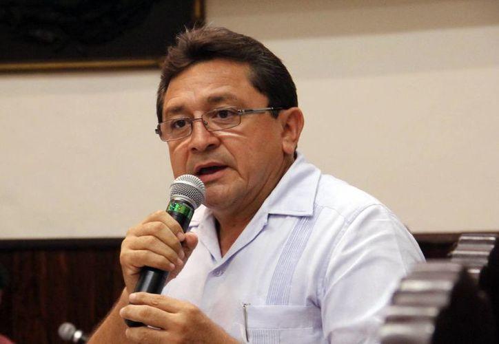 Felipe Duarte Ramírez, integrante de la Red de Maestros de Yucatán. (SIPSE)