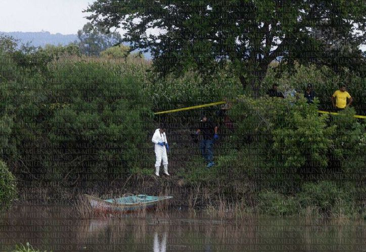 En la desembocadura del río Lerman en el Lago de Chapala se han localizados 12 cuerpos. (Nacho Reyes/Milenio)