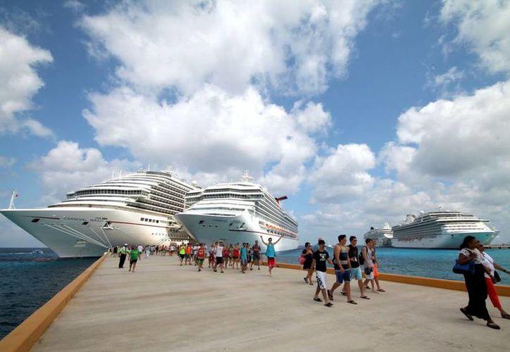 Los destinos de los hoteles flotantes son Cozumel y Majahual. (Redacción/SIPSE)