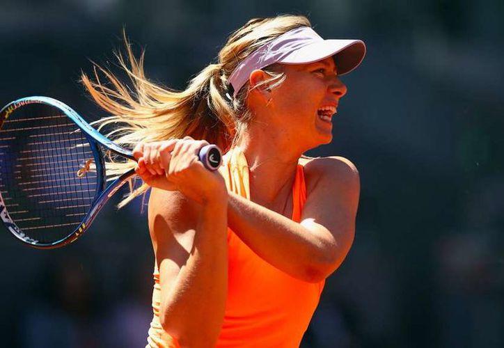 Sharapova fue suspendida por 15 meses (Foto: WTA)