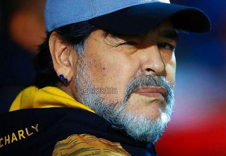 Maradona llegó a dos finales con Dorados de Sinaloa. Hoy les dice adiós (Foto: Instagram)