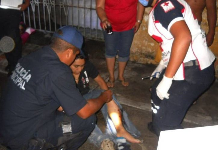 Dos elementos castrenses resultaron severamente lesionados en el incidente ocurrido el pasado sábado en Valladolid.  (Luigi Domínguez/SIPSE)