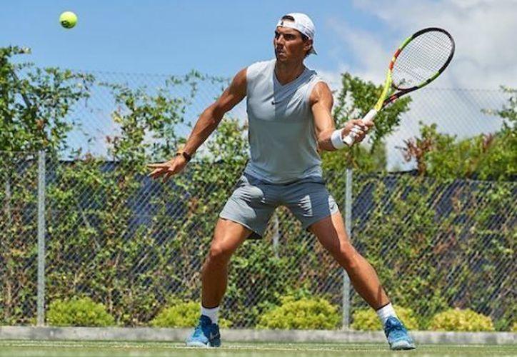 Rafael Nadal regresó al primer lugar del ranking mundial de la Asociación de Tenistas Profesionales. (Instagram)