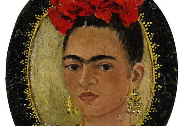 Retrato de la mexicana Magdalena Carmen Frida Kahlo Calderón, más conocida como Frida Kahlo, fue una pintora mexicana.