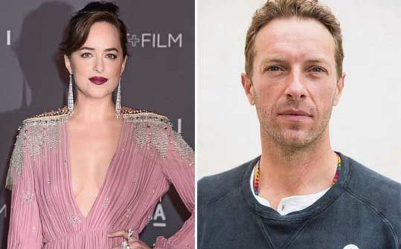 Se fortalece 'romance' entre Chris Martin y Dakota Johnson