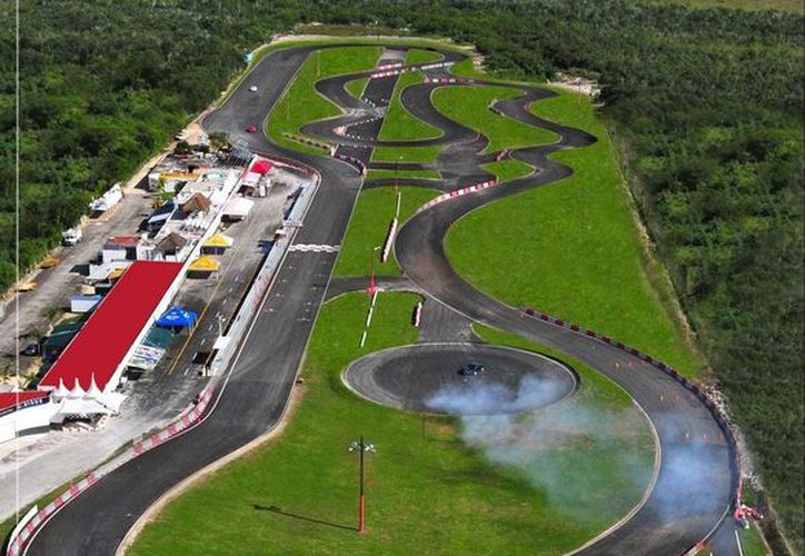 El autódromo lucirá sus mejores galas para albergar la Fórmula 4, del 3 al 5 de febrero. (Ángel Villegas/SIPSE)