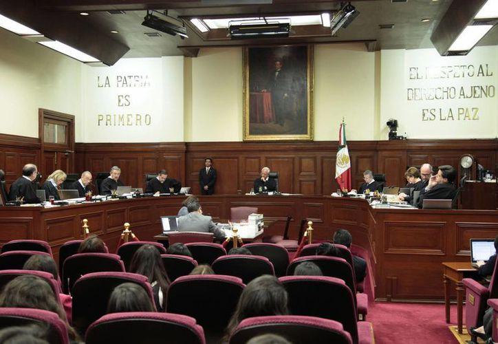 La Suprema Corte revisará a detalle diversos artículos del Código Penal antes de que entre en vigor. (Notimex)