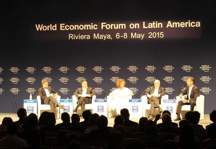 Finaliza el Foro Económico Mundial en la Riviera Maya. (Redacción/SIPSE)
