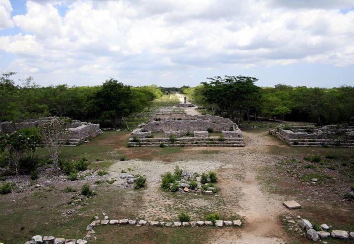 El sitio de Dzibilchaltún preserva vestigios arqueológicos mayas. (Milenio Novedades)