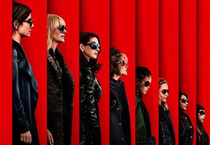 La banda de ladronas es comandada por Debbie Ocean, personaje de Sandra Bullock. (Foto: Twitter)