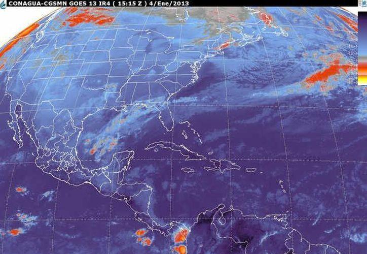 Soplarán vientos del este y sureste de 20 a 40 km/h con oleaje ligeramente alto en la zona costera de Quintana Roo. (smn.cna.gob.mx)