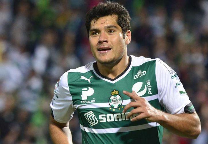 Javier Orozco es el reemplazo de 'chicharito', luego de que este último se lesionara, en el partido de ayer entre México y Honduras. (elhorizonte.mx)