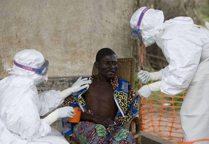 El ébola es un virus que suele expandirse con facilidad en la zona central de África. (Archivo/AP)