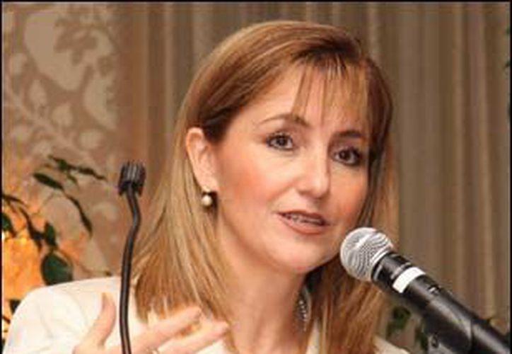 La titular de la Secretaría de Turismo, Gloria Guevara Manzo. (Archivo Notimex)