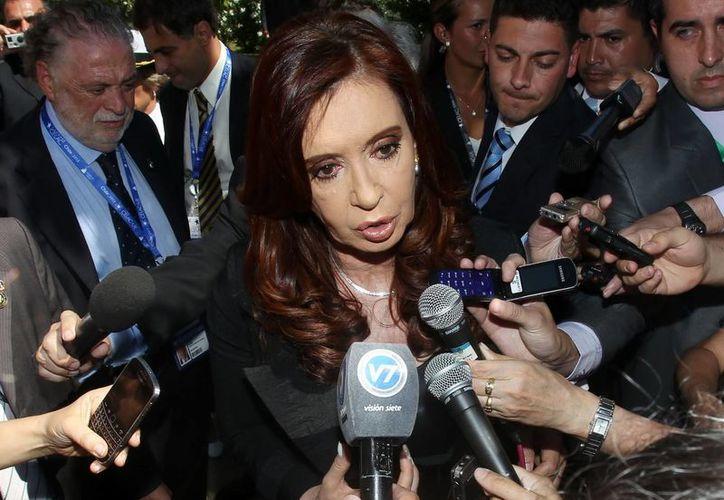 Fernández de Kirchner y Chávez no mantenían sólo una relación política, sino personal. (EFE)