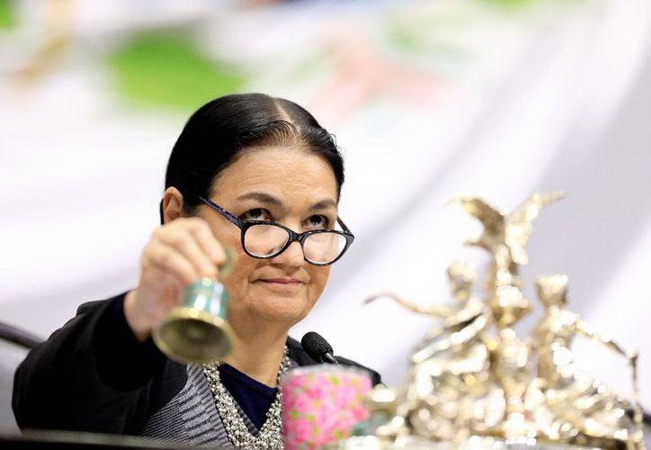 La reforma que impulsan el Presidente y el grupo de Morena es una vacilada, dijo Sauri. (Foto: Twitter/@GPPRIDiputados)
