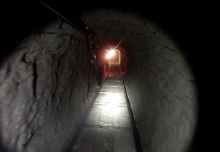 La construcción del túnel requirió por lo menos un año. (Notimex)