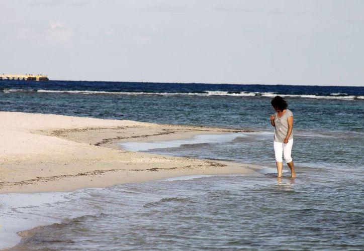 El proyecto refiere al seguimiento de la evolución del litoral peninsular. (Harold Alcocer/SIPSE)