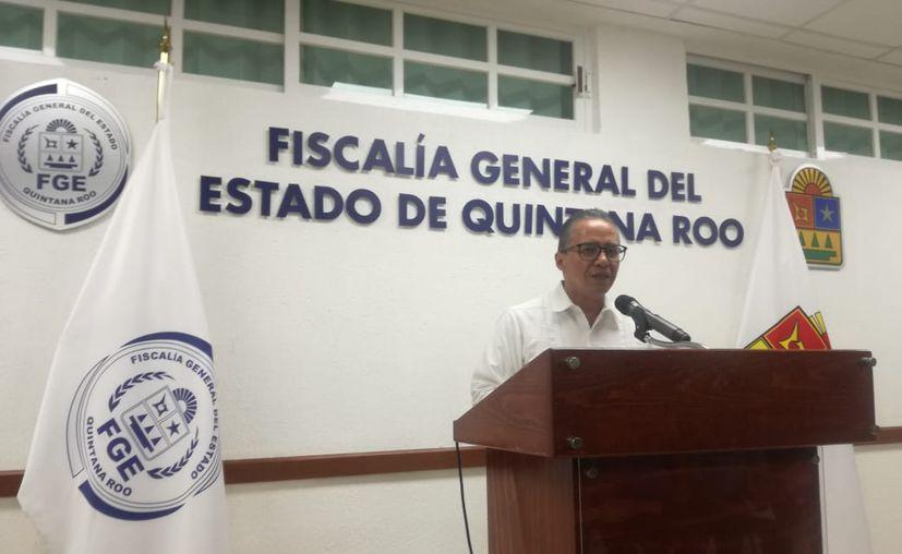 """""""No nos alcanza, pero nosotros vamos a luchar para que se nos asigne mayor recurso, un monto mayor"""", afirmó Montes de Oca Rosales. (Daniel Tejada/SIPSE)"""