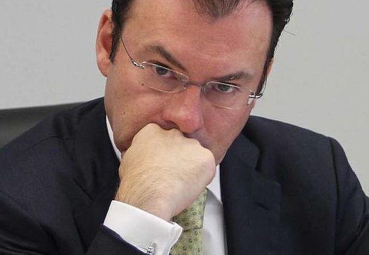 """Según el secretario de Hacienda, Luis Videgaray, ahora es momento de dar certidumbre en las reglas de los impuestos"""". (Notimex/Archivo)"""