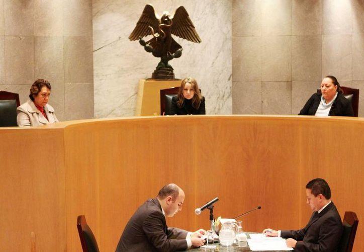 El Tribunal Electoral de la Federación se pronunció a favor de un recurso que presentó el PAN contra los partidos Humanista y Encuentro Social. (Agencias)