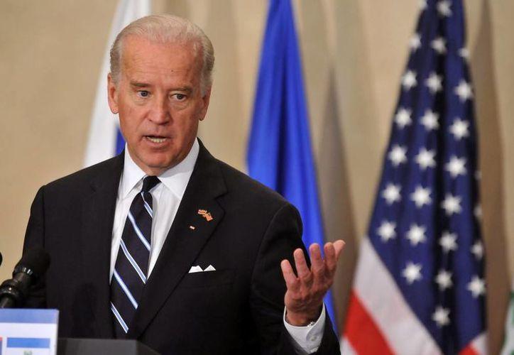 El presidente de Panamá Ricardo Martinelli dijo que Joe Biden (foto) tratará en Panamá una agenda bilateral de comercio, seguridad y el canal. (EFE/Archivo)