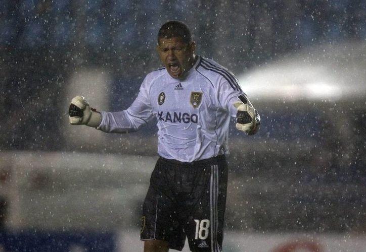 Nick Rimado, portero del Real Salt Lake y de la selección de EU, es de ascendencia mexicana y filipina. (EFE/Archivo)