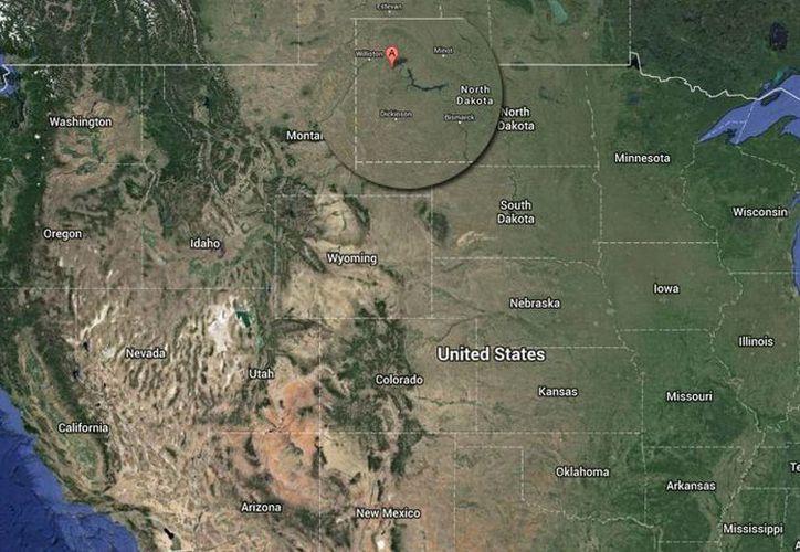Montana y Dakota del Norte integran la zona petrolera del norte de Estados Unidos. (google maps)